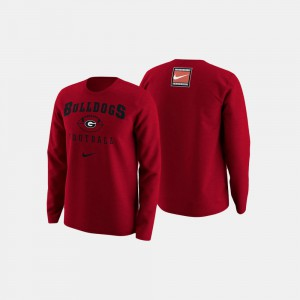Red For Men's UGA Sweater College Football Retro Pack 673824-948
