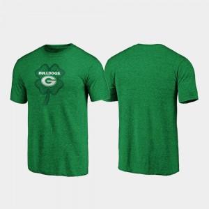 St. Patrick's Day Celtic Charm Tri-Blend Green For Men UGA T-Shirt 539545-765