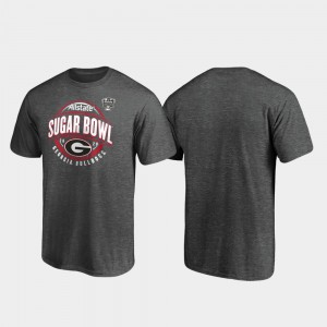 Men's 2020 Sugar Bowl Bound UGA T-Shirt Scrimmage Heather Gray 188857-152