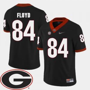 Leonard Floyd UGA Jersey #84 Black Men 2018 SEC Patch College Football 744346-843